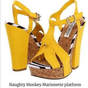 naughty monkey Shoes - Naughty Monkey Marionette Platforms 8